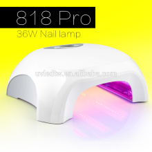White color 220V/240v/110V Timer 36W uv nail lamp 4*9W tubes Nail uv lamp 36w custom uv lamp