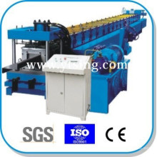 Passed CE and ISO YTSING-YD-6761 Automatic Control Galvanized Steel Z Purlin Roll Forming Machine