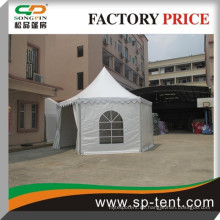 Spezielle Aluminium-Legierung Rahmen feuerhemmenden UV-Schutz mongolischen Stil Jurte Zelt 5x10m