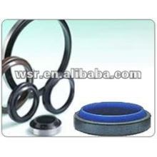 custom molded rubber wiper seals