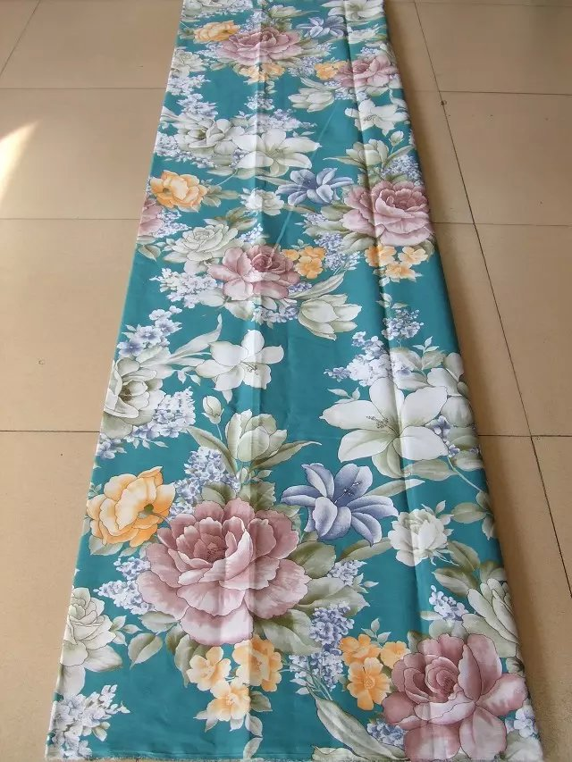 cotton printed fabrics reactive bed sheet