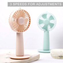 Portable Mini USB Fan With Beautiful Mirror