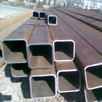 12m ERW Black Painted Square Hollow Steel Tubes