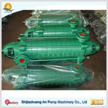 Bomba centrífuga de alta presión de agua de múltiples etapas