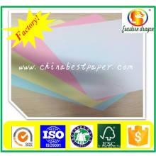 Papier couleur offset 120GSM sans revêtement