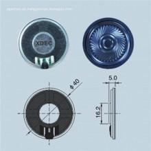 Altavoz redondo de 40 mm Altavoz Mylar de 8 ohmios y 0,5 W