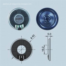Alto-falante redondo de 40 mm 8 ohms 0,5 W Mylar alto-falante