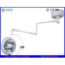 Lampes d'exploitation halogènes sans halogène à tête unique intégrées au plafond