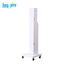 Big power 254nm uv disinfection lamp car uvc lamp trolley for restaurant hotel disinfection