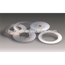 Lâminas de aço de tungstênio para corte de papelão ondulado