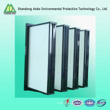 De Buena Calidad Filtro profundo plisado H13 HEPA del filtro de aire de la fuente de China