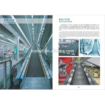 Bewegliche Seitenwanderungen Rolltreppen in China