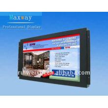 Pantalla publicitaria LCD de marco abierto de 26 pulgadas