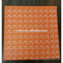 Caja de tubos de centrífuga de 0,5 ml Caja de tubos crioviales de 100 pocillos