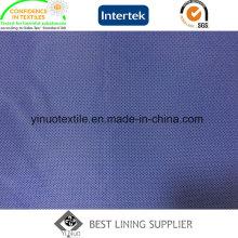 Doublure 100% d'impression de polyester 70-72GSM pour la doublure de veste de costume des hommes