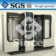 Sistema de Purificación de Carbono con Nitrógeno PSA