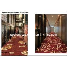 Maschine gemacht Wand zu Wand Wilton Hotel Teppiche