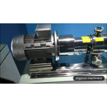 Homogeneizador de leche de alta presión SS304 / 316