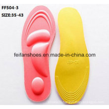 New Design High Quality Breathable Memory Foam Sport Insole (FF504-3)