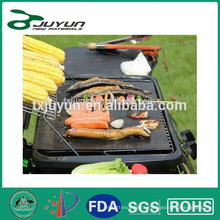 HOT SALE! black non-stick, reusable, bbq grill mat made in China, BEST PRICE
