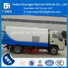 Fabricación de China Foland del camión del camino para la venta Camión de limpieza del barrido de la limpieza 4 * 2 para la venta