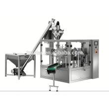 Machine rotative de sac à bec côté prématuré rotatif