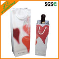 Customized Promotional Paper Wine Bag