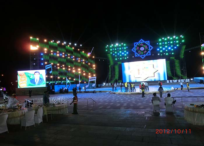 p10 rental led display