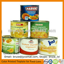 EN10202 Standard MR Grade Tinplate for Food Can