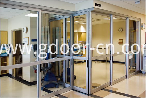 Anti-bacterial Hermetic Operating Room Automatic Sliding Glass Doors