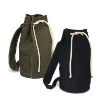 Cotton Drawstring Sailor Bag Canvas Outdoor Basketball Bag