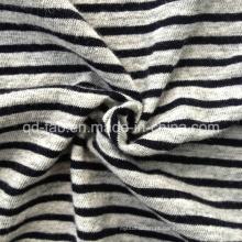 Fios de linho tingido camiseta Jersey (QF-13-0276)