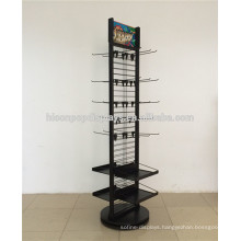 Store Wholesale New Products Visual Merchandising Heavy Duty Metal Wire Spinner Rack Display Stand