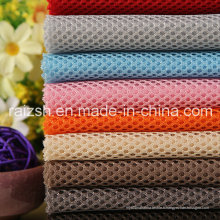 Tissu en maille sandwich pour faire des chaussures / sac en Chine Factory