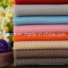 Tela de malha de sanduíche para fazer sapatos / saco da fábrica de China