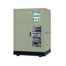 oil-less screw compressor