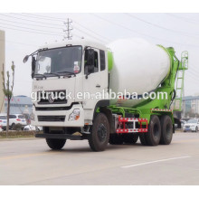 Dongfeng 340 Hp 10 metros cúbicos 6 * 4 Dongfeng mezclador camión de hormigón precio barato