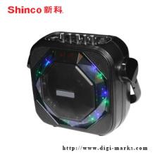 Лучшие Продажи Круглый Профессиональный Беспроводной Bluetooth Портативный Мини-Динамик