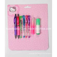 Hallo Kitty Blister Card Briefpapier Setau111)