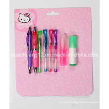Hello Kitty Blister Card Stationery Setau111)