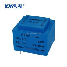 EI28 Series mini power transformer of PCB mounting
