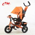 Китай новый дизайн детские дети трехколесный велосипед педаль трехколесный велосипед может лежать/Bicystar бренд дети металлический трицикл воздуха колеса