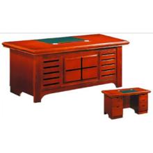 Mesa de escritório oval antiga de boa qualidade, mesa de escritório em casa