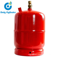 Chinese Manufacture Propane 2kg Gas Cylinder LPG for Picnic with Low Price