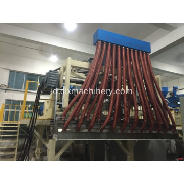 Sepenuhnya Automatic Pallet Stretch Wrapping Film Equipment