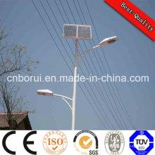 El precio más competitivo Lámpara de calle ligera solar LED alto lúmenes Instalación fácil Sistema de luz de calle solar 60W