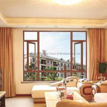 Окно casement воздухонепроницаемый алюминий повышает водонепроницаемость (М-W80)