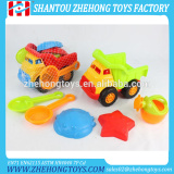 6 pcs Plastic Beach Truck Toys Kids Beach Set