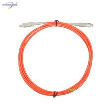 cable de conexión de fibra óptica sc sx mm