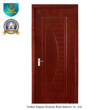 Porta de madeira composta sólida estilo moderno